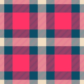 Classico motivo scozzese scozzese con motivo check scozzese