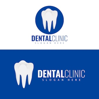 Clinica dentistica logo design.