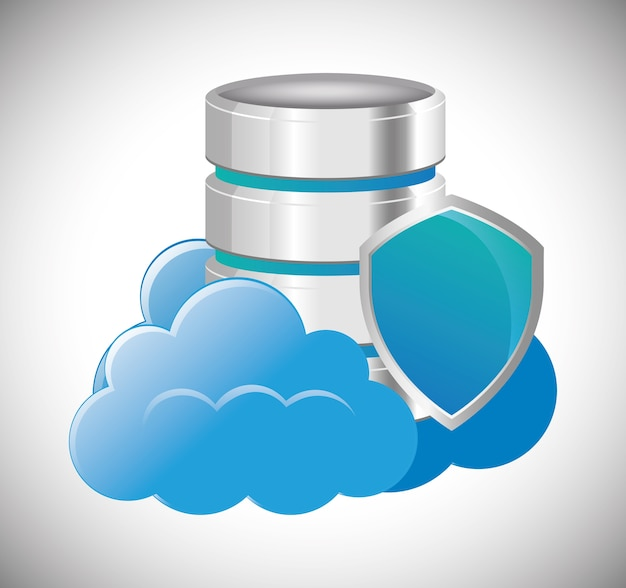 Cloud computing web hosting design