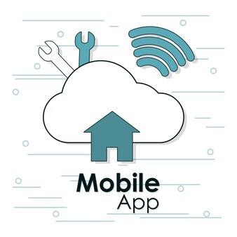 Cloud e wifi per applicazioni mobili