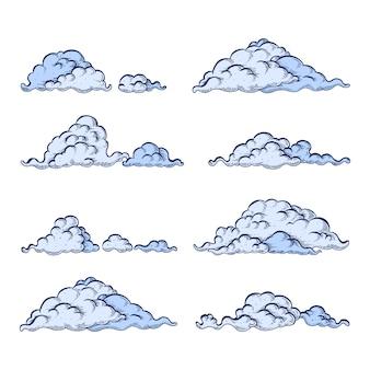 Cloud impostato su bianco