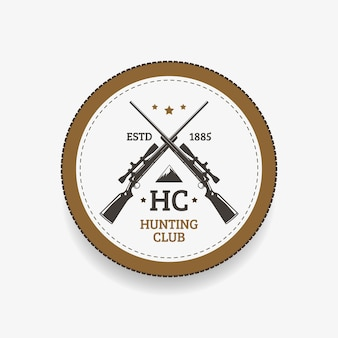 Club di caccia dell'emblema