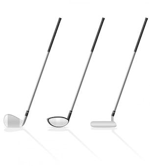Club di golf.