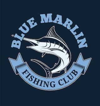 Club di pesca del marlin blu