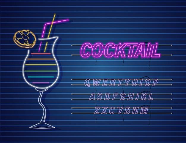 Cocktail al neon