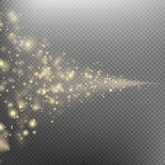 Coda della cometa spaziale.