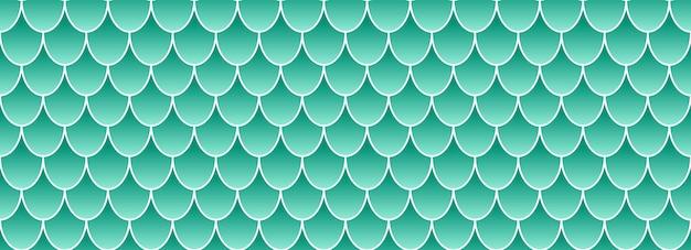 Coda di sirena olografica, sfondo di pelle di pesce.