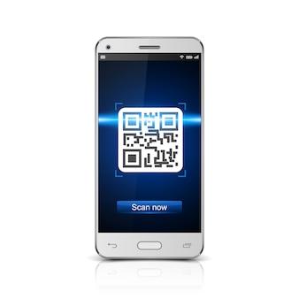Codice qr scannerizzato da smartphone
