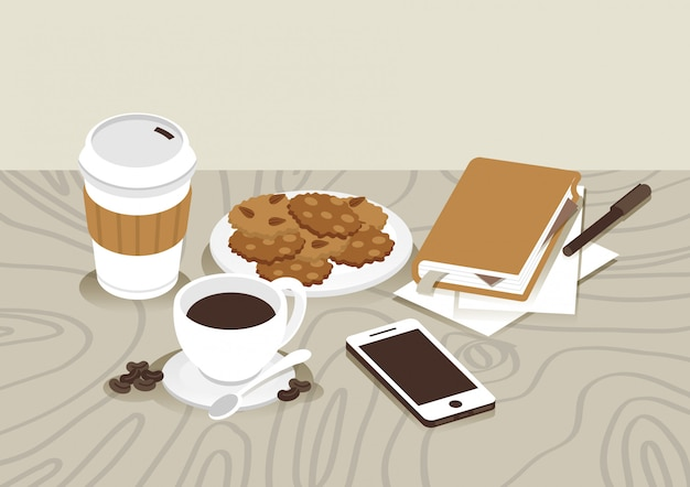 Coffee time & work