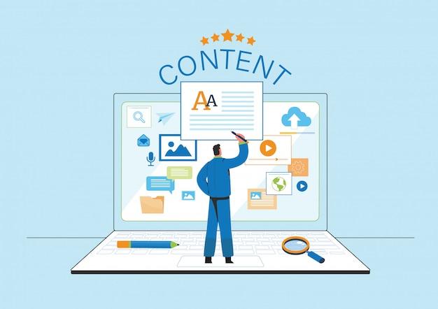 Coinvolgere l'illustrazione dei contenuti
