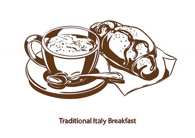 Colazione tradizionale italiana