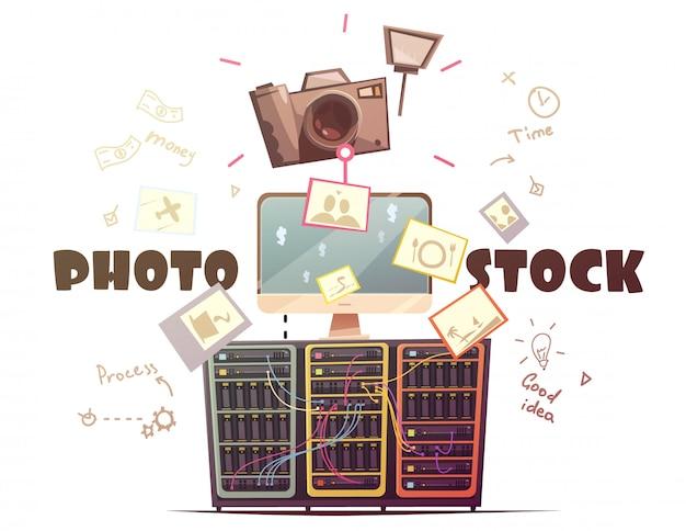 Collaboratori di successo con foto di alta qualità alle agenzie di borsa