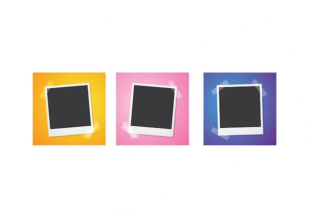 Collage di cornici fotografiche