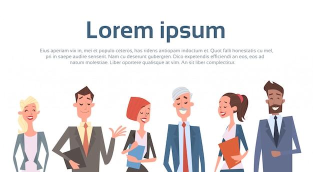 Colleghi delle risorse umane del gruppo di affari della gente di gruppo