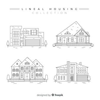 Collettiva per alloggiamento lineare
