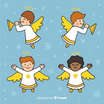 Collezione angelo di natale