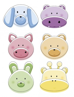 Maiale foto e vettori gratis - Animale cartone animato immagini gratis ...