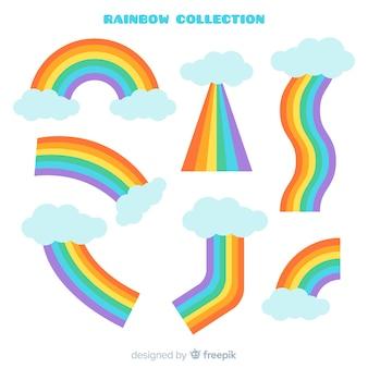 Collezione arcobaleno