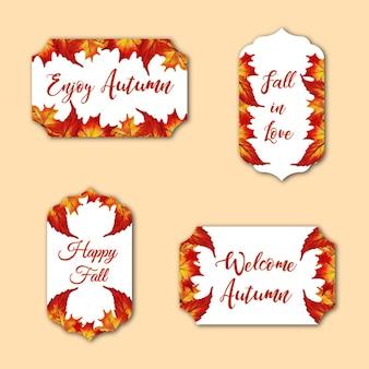 Collezione autunno logo