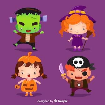 Collezione bambini halloween