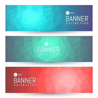 Collezione banner e intestazioni