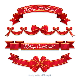 Collezione christmas ribbon