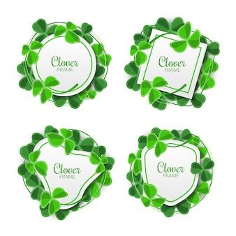 Collezione clover frame