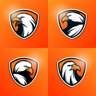 Collezione del logo eagle