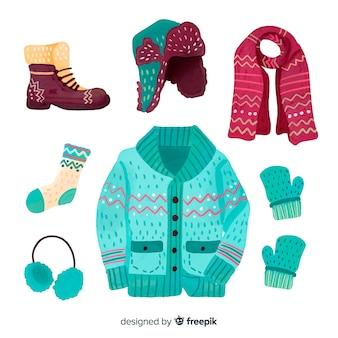 Collezione di abiti invernali