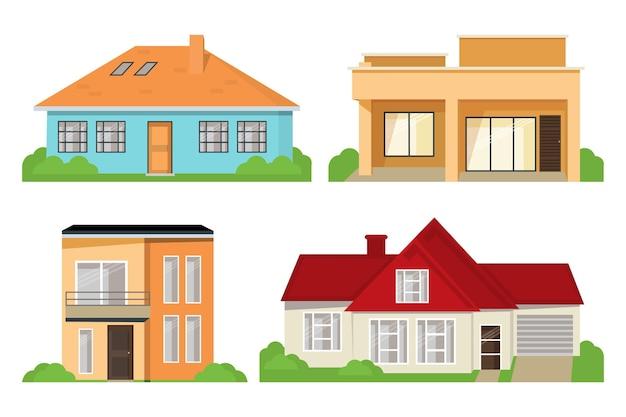 Collezione di architettura della casa