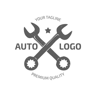Collezione di auto logo