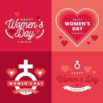 Collezione di badge da donna