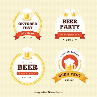 Collezione di bere di birra