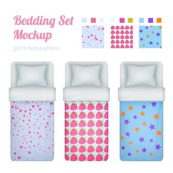 Collezione di biancheria da letto per bambine