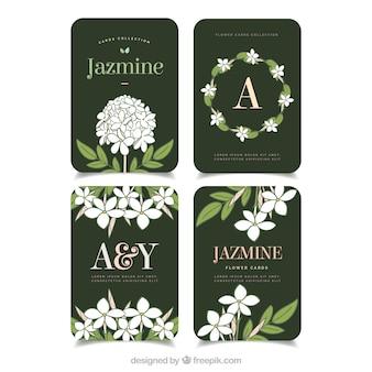 Collezione di biglietti jasmine
