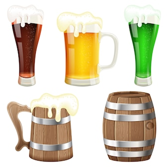 Collezione di birra