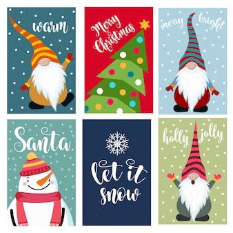 Collezione di cartoline natalizie