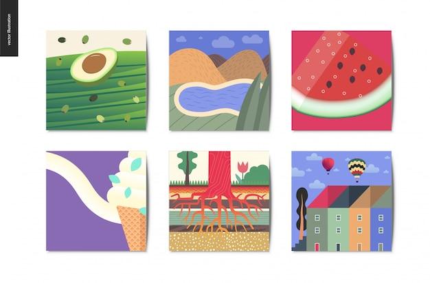 Collezione di cartoline