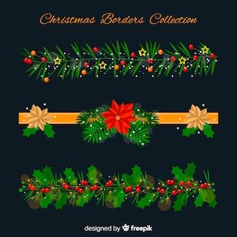 Collezione di confine natalizio
