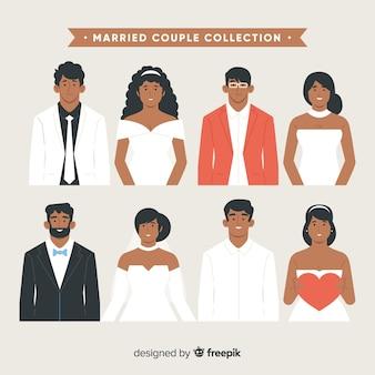 Collezione di coppie sposate