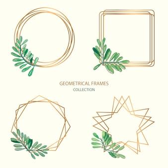 Collezione di cornici geometriche