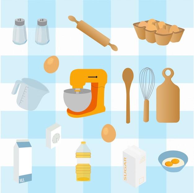 Collezione di cucina