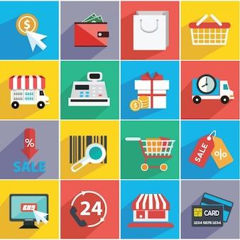 Collezione di e commerce