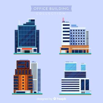 Collezione di edifici per uffici