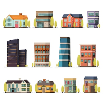 Collezione di edifici