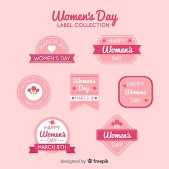 Collezione di etichette per donna