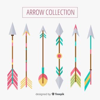Collezione di frecce tribali