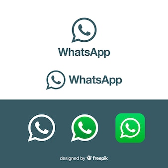 Collezione di icone di whatsapp