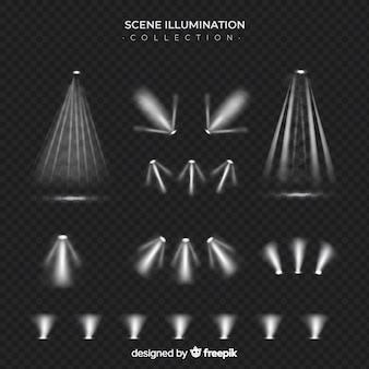 Collezione di illuminazione scenica