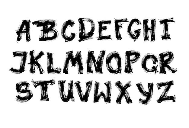 Collezione di lettere dell'alfabeto